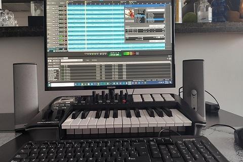 sofware para teclado midi