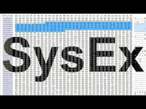Protocolo SysEX, ¿Qué es?