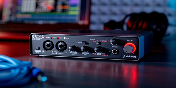Interfaz de audio MIDI